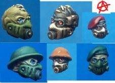 10x Hazmat Heads Mixed Pack